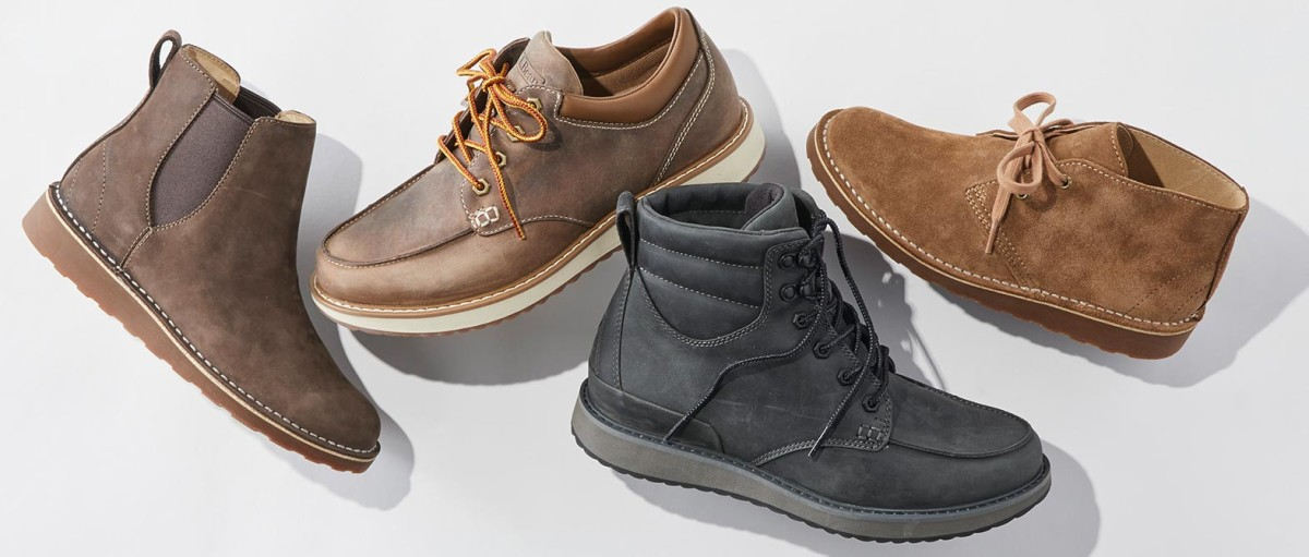 4 new styles of footwear