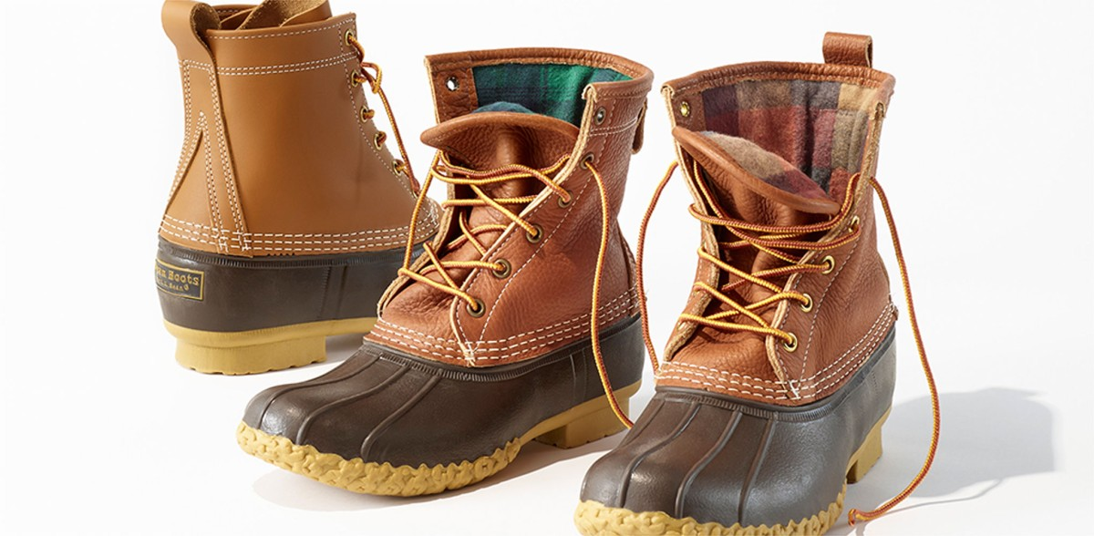 Bean Boots lined with chamois