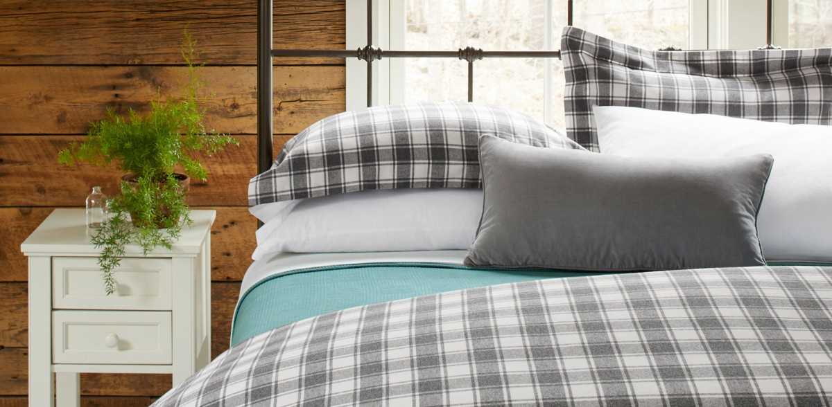 Bed fitted with Ultrasoft Comfort Flannel