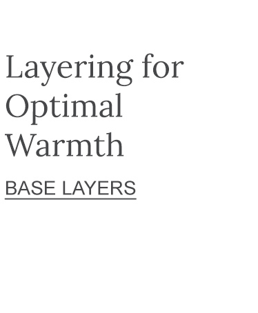 Layer for Optional Warmth