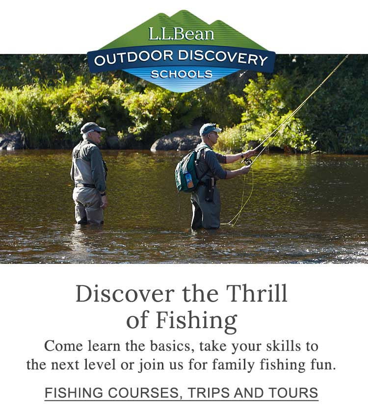 Discover the Thrill of Fishing. Come learn the basics, take your skills to the next level or join us for family fishing fun.