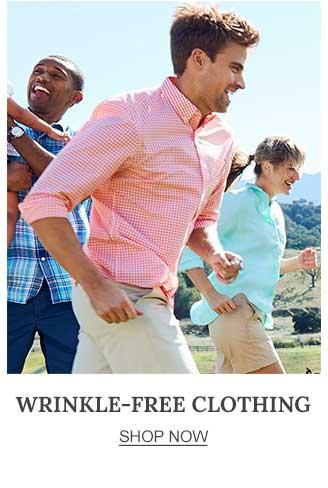 Wrinkle-Free Clothing