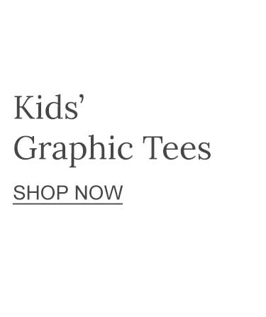 Kids' Graphic Tees Shop Now
