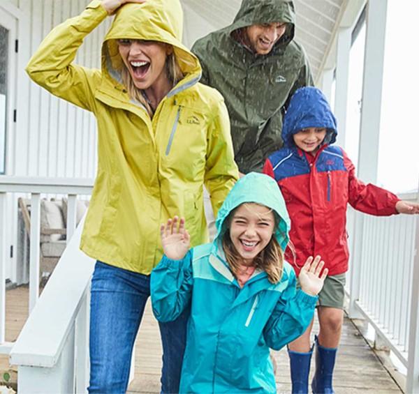 Rain Jackets and Coats