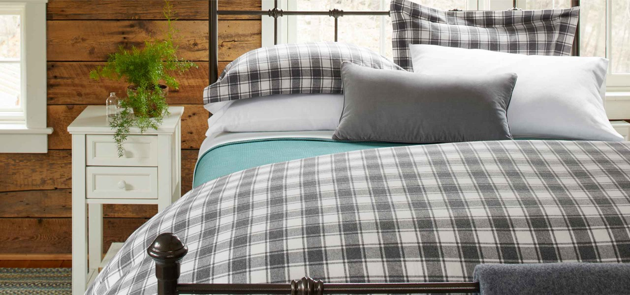 Flannel Bed Set
