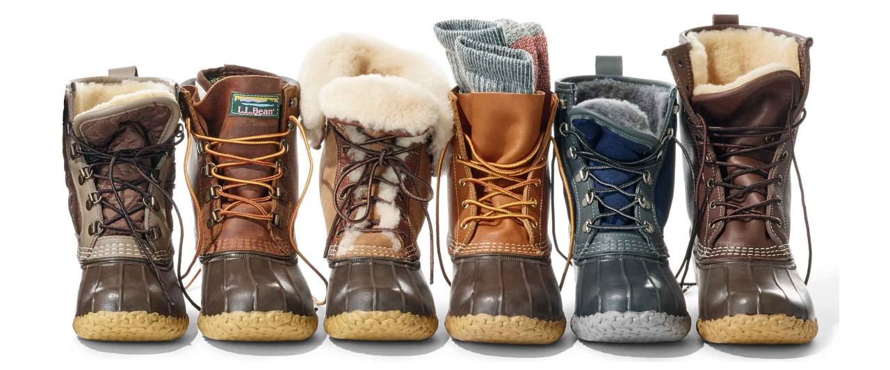 Bean Boot Line-Up