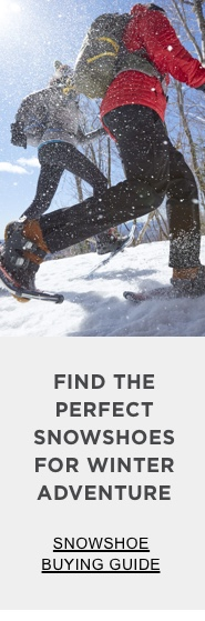 Find the perfect snowshoes for winter adventure