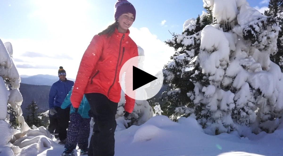 [how-to snowshoe video]