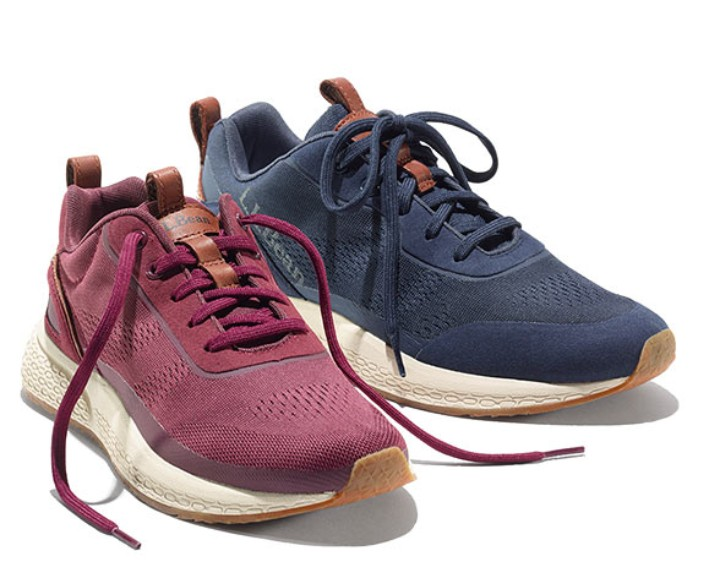 Stonecoast Sneakers Lightweight, generously cushioned and built with lots of ventilation.