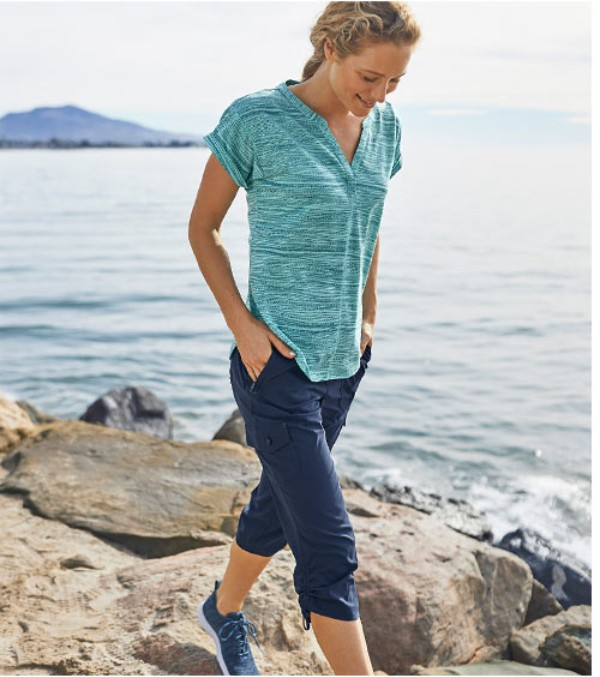 The Go-Everywhere Pants Exceptionally versatile, made from abrasion-resistant fabric that's surprisingly light yet rugged.