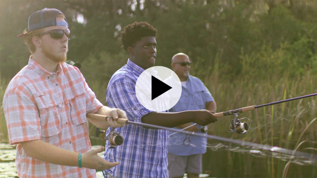 Play video - Catching Fish Changing Lives