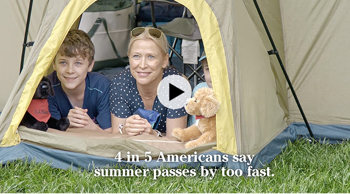 Play Video - 4 in 5 Americans say summer passes by too fast.