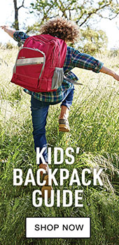 Kid's backpack guide. Shop Now.