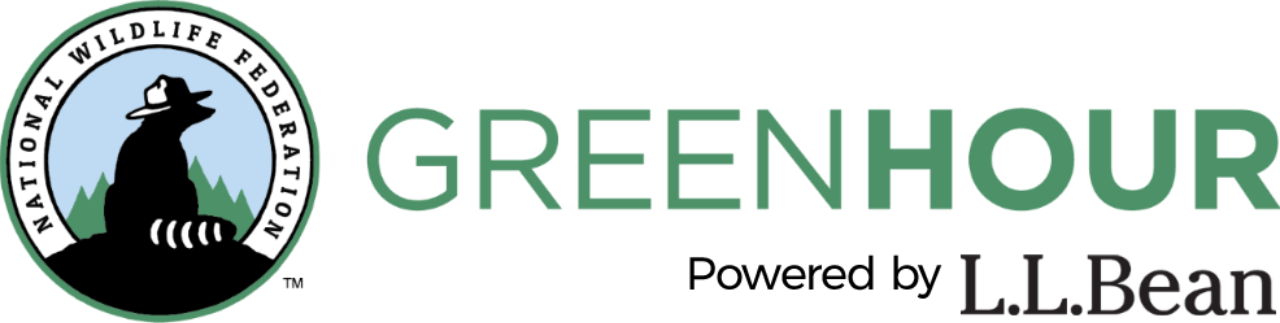 "GreenHour logo plus ""Powered by L.L.Bean"""