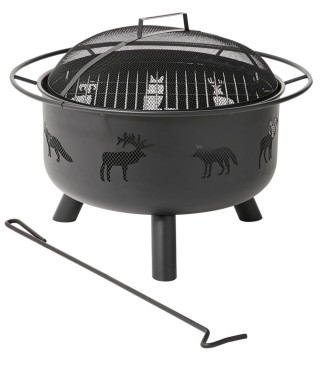 Backyard Wildlife Fire Pit