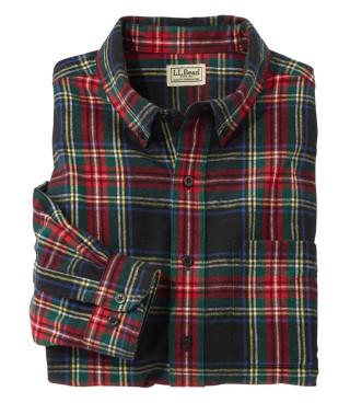 Scotch Plaid Flannel Shirt