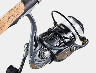 Close-Up of Fishing Reel.