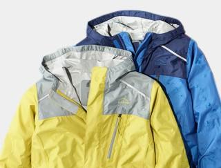 2 kids' jackets.