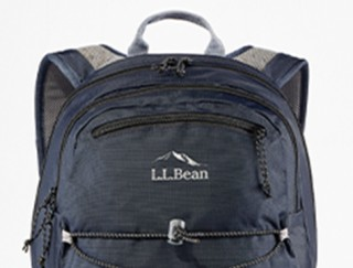 Close-up of backpack.