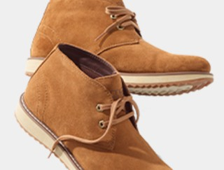 Pair of casual boots.