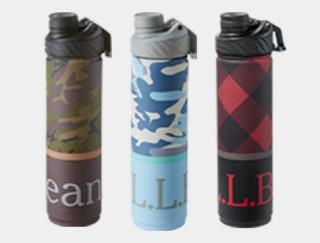 3 water bottles.