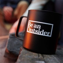 Be An Outsider mug