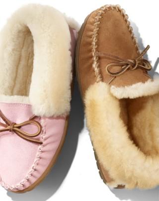 Pair of women's slippers