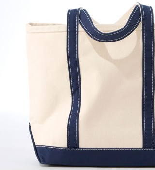 Close up of tote