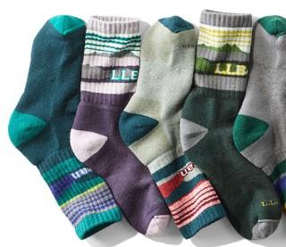 Line of socks