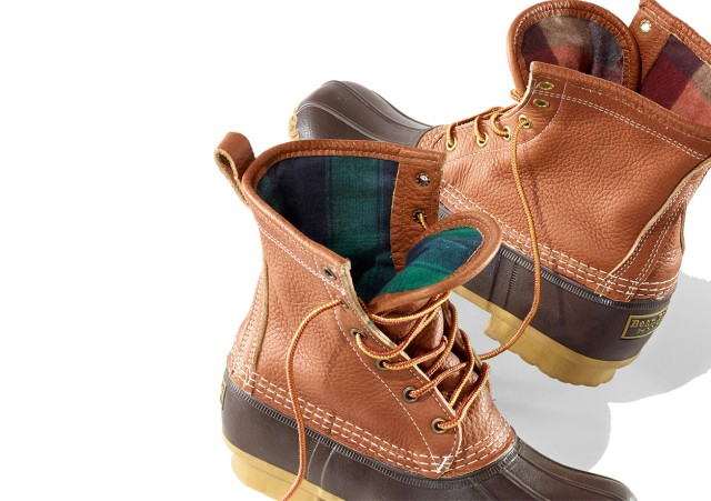 Flannel Lined Bean Boots