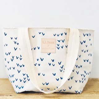 Erin Flett bird's eye print tote bag