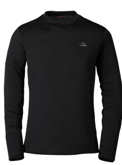 Lightweight crewneck baselayer