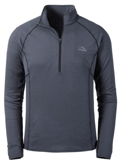 Midweight quarter-zip baselayer.