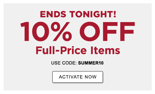 ENDS TONIGHT! 10% OFF full-price items with code SUMMER10 —or— 15% OFF with an L.L.Bean Mastercard >ACTIVATE NOW