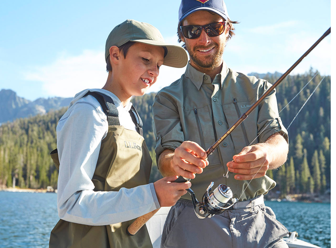 Get the Family Started Fishing