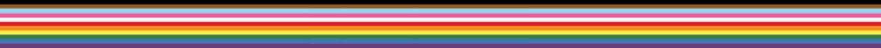 LGBTQ+ inclusive rainbow