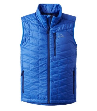 An insulated vest.