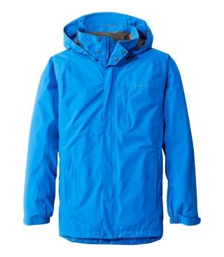 Men's rain jacket.