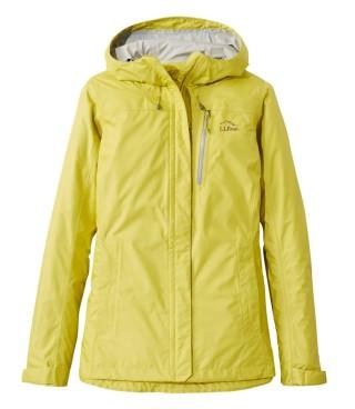 Women's rain jacket.