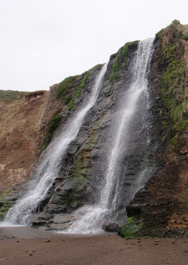 POINT REYES NATIONAL SEASHORE, Alamere Falls, CA
