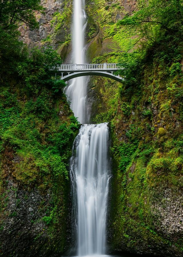 Multnomah Falls, Bridal Veil OR