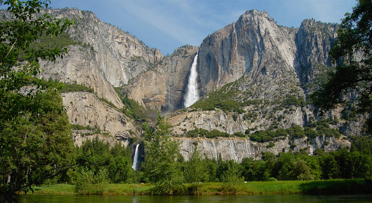 Lower Falls at Yosemite National Park