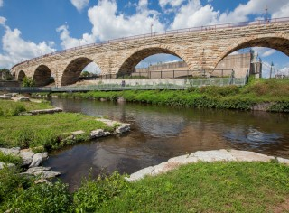Stone Arch Bridge, Mississippi National River and Recreation Area, Minneapolis, MN