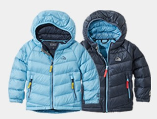 2 toddler down jackets.