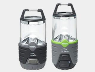 2 lanterns.