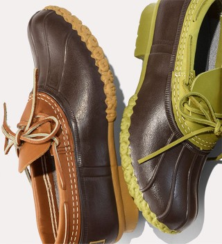 Pair of Bean Boots