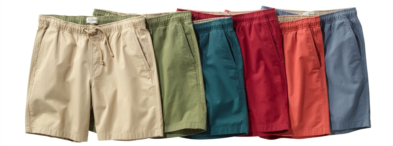 Muliple colored shorts