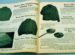 Old L.L.Bean catalog spread