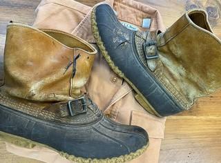 Circa 1980's L.L.Bean pull on boots