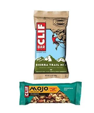 Clif Sierra and Mojo Bars